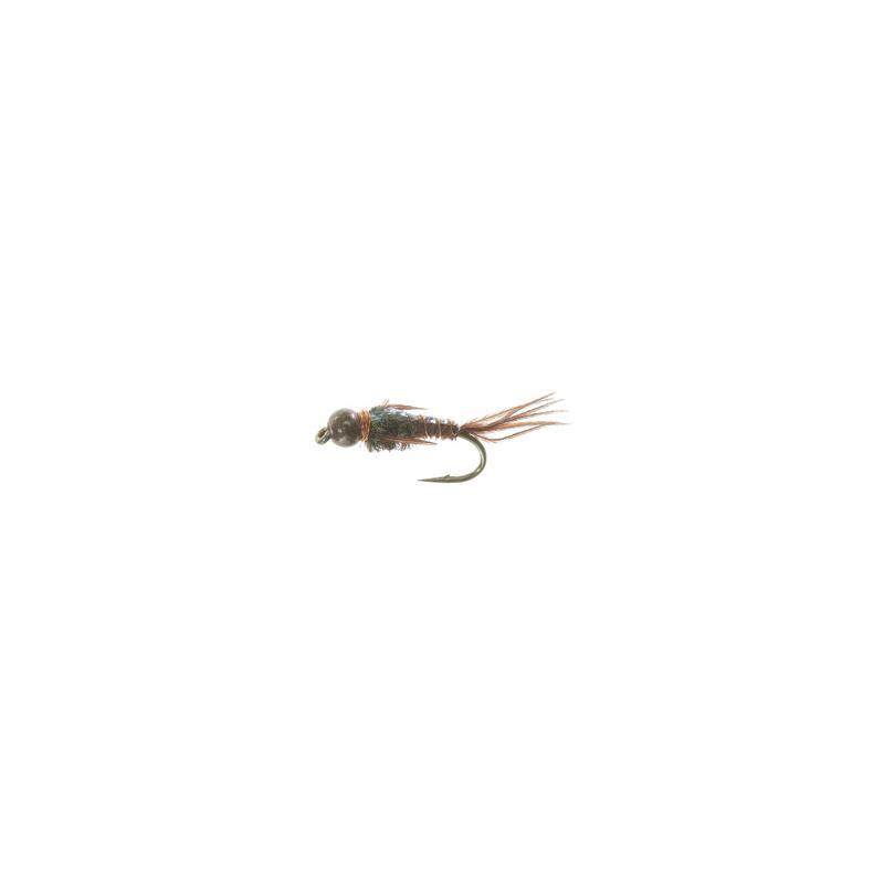 Bead Head Flashback PT Brown #12 Kjøp 12 fluer få gratis flueboks