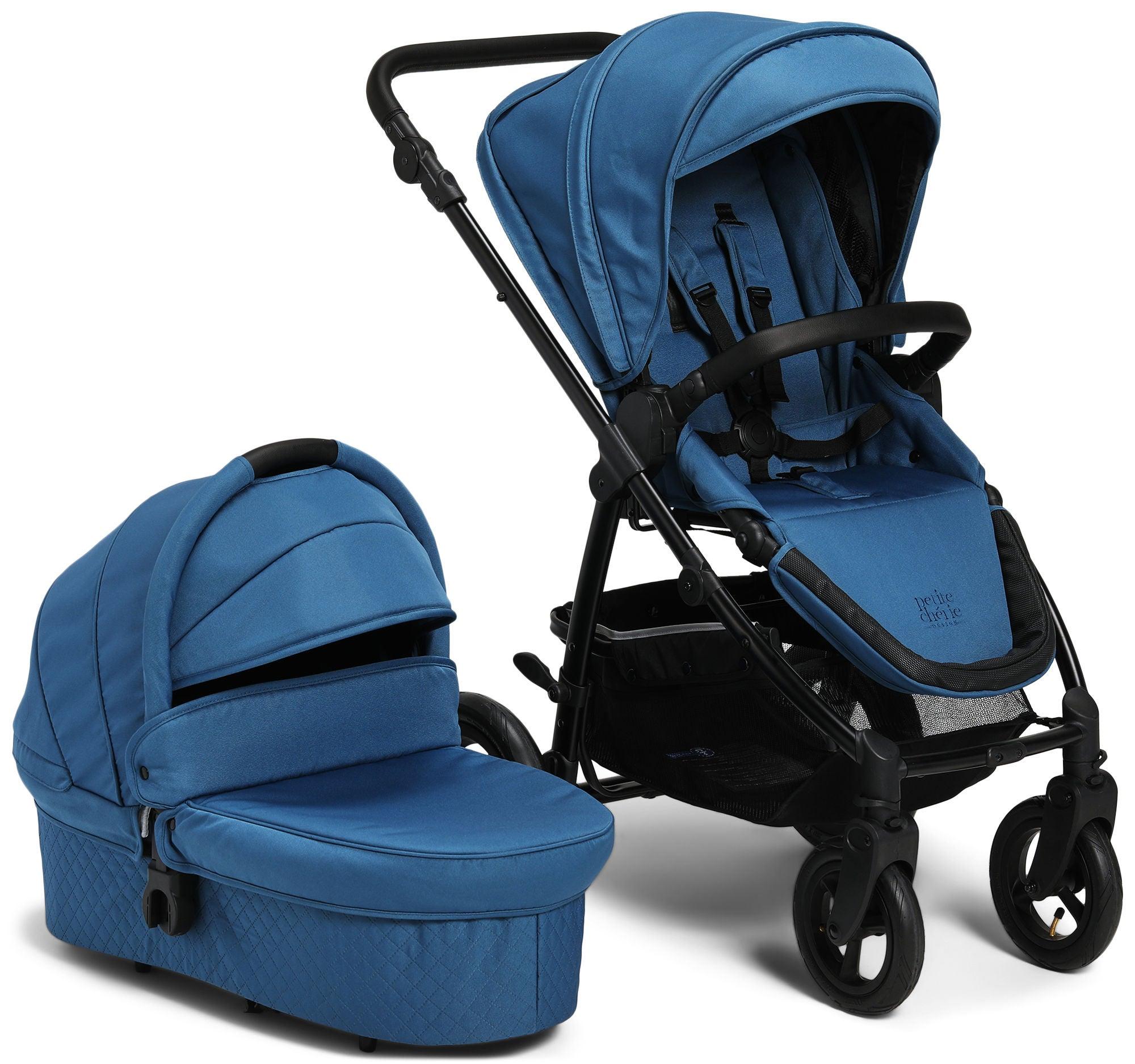 Petite Chérie Heritage 2 Duovagn, Blue/Black