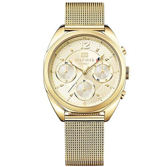 Armbandsur Mesh Guld - 75% rabatt