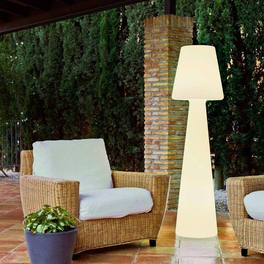 Newgarden Lola LED-gulvlampe batteri, høyde 165 cm