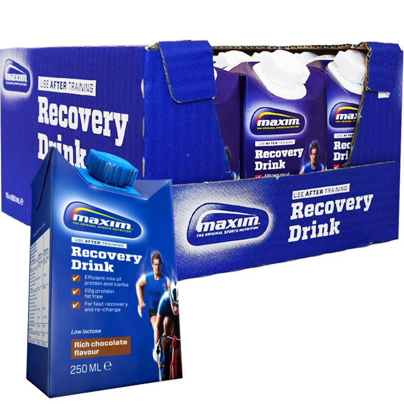 "Hel Låda ""Recovery Drink"" Choklad 15 x 250ml - 73% rabatt"