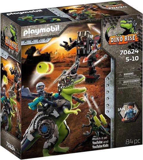 Playmobil 70624 T-Rex: Kamp mellom gigantene