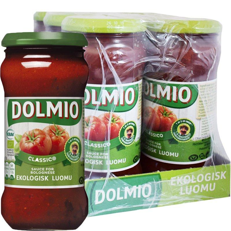 Laatikollinen Luomu Tomaattikastiketta 6 x 350g - 35% alennus