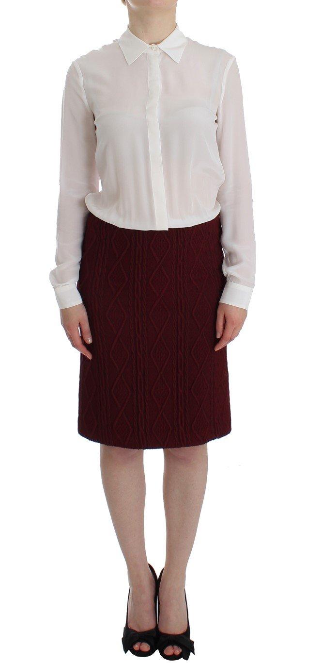 Christian Pellizzari Women's LS Wool Dress SIG12502 - IT42 | S