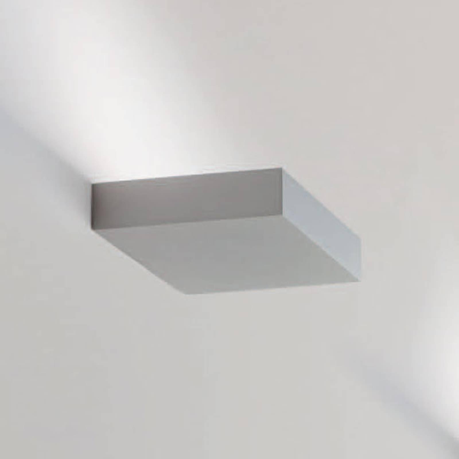 LED-seinävalaisin Regolo, pituus 16,3 cm, alumiini