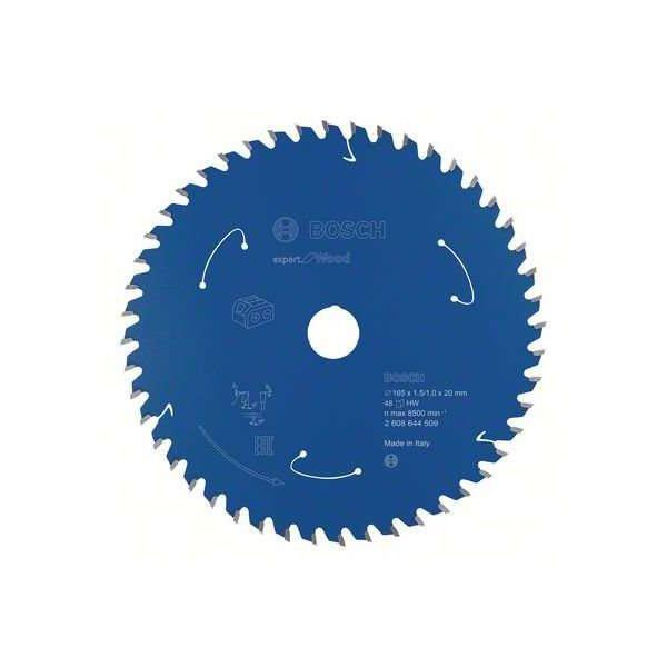 Bosch Expert for Wood Sagklinge 165x1,5x20 mm, 48T