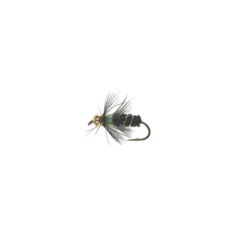 Bead Head Black devil #10 Kjøp 12 fluer få gratis flueboks