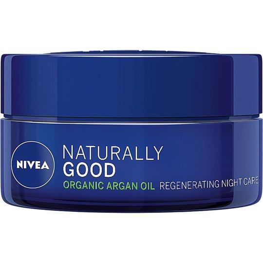 Naturally Good Night Cream, 50 ml Nivea Yövoiteet