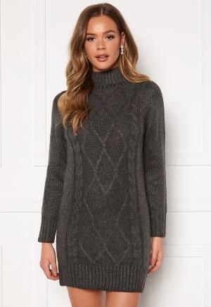 Happy Holly Arabella sweater dress Grey melange 32/34