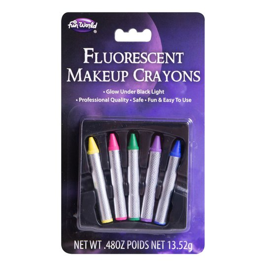 Sminkkritor UV Neon
