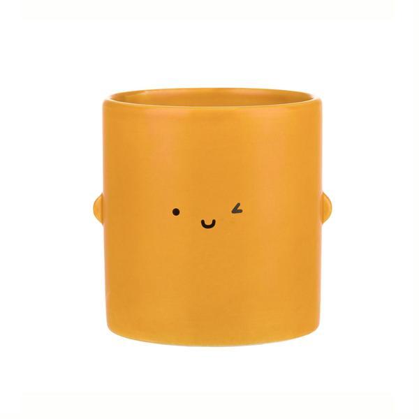 Mustard Smile Toki Plant Pot