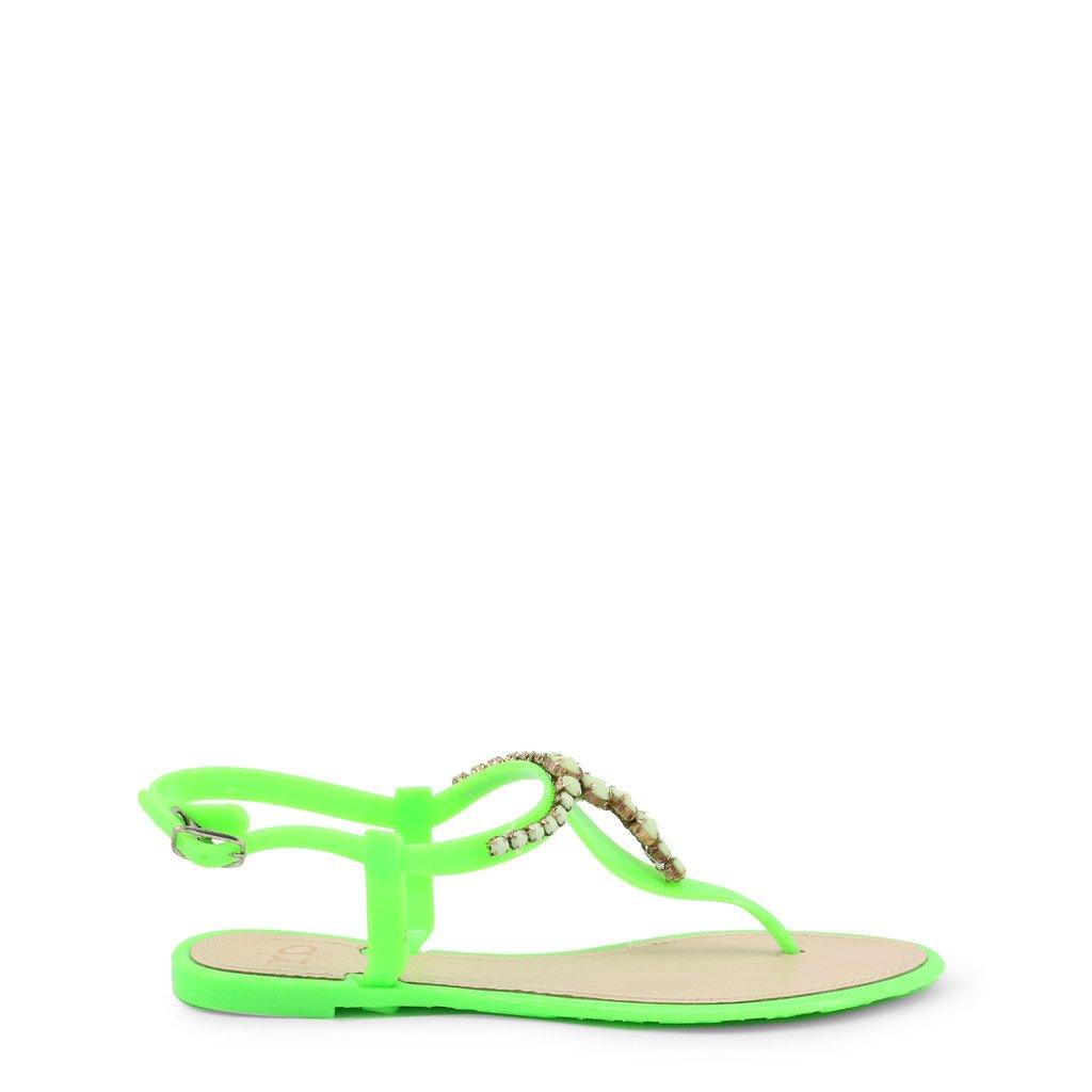 Roccobarocco Women's Flip Flops Various Colours RBSC0MD01 - green EU 36