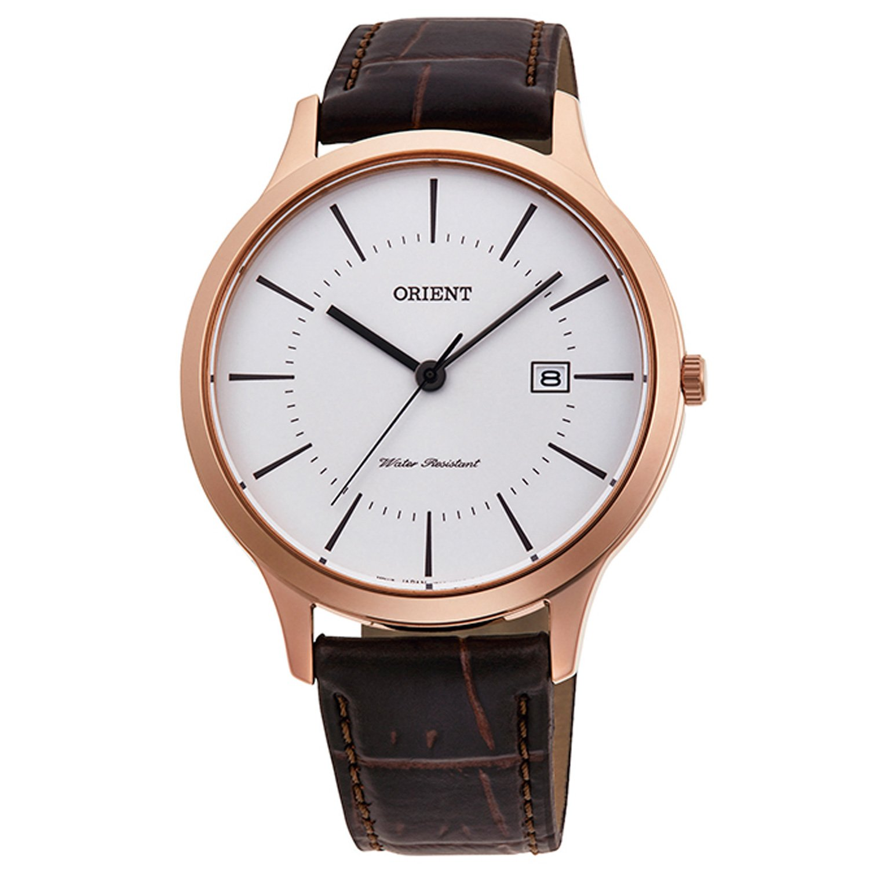 Orient Men's Watch Rose Gold RF-QD0001S10B