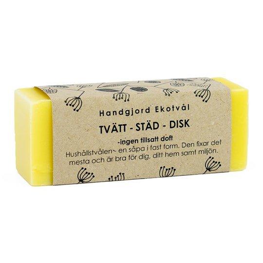 Malin i Ratan Handgjord Ekotvål för Tvätt, Städ & Disk - Utan parfym