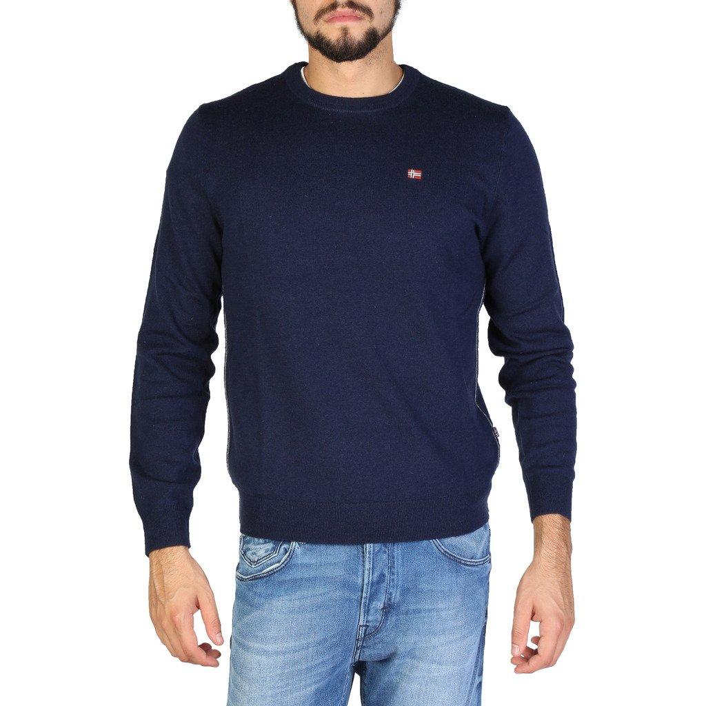 Napapijri Men's Sweater Various Colours DAMAVAND_N0YGPB - blue S