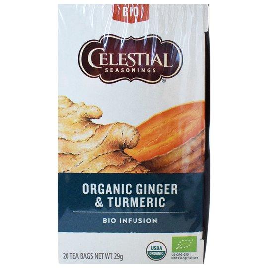 "Eko Te ""Ginger & Turmeric"" 29g - 26% rabatt"