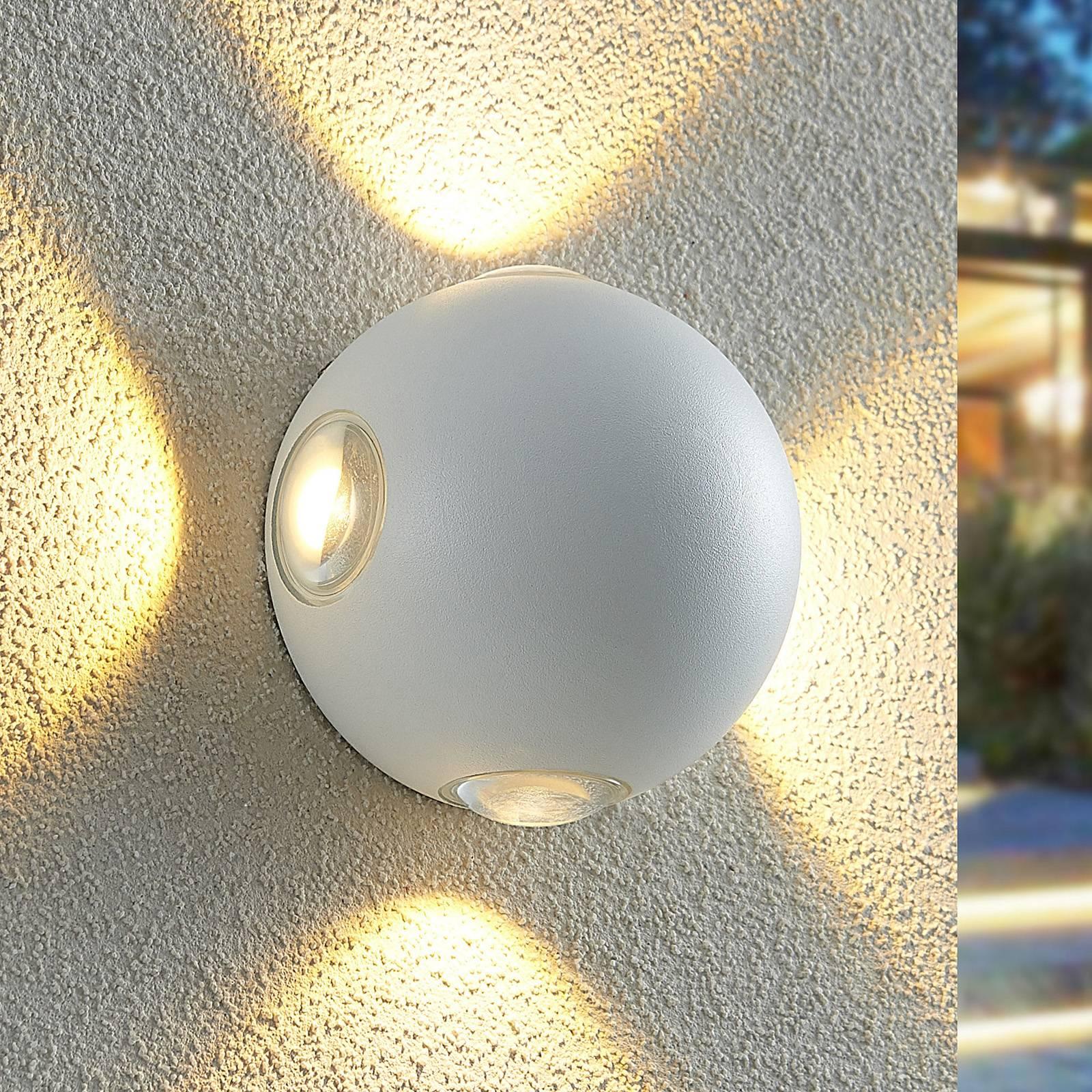 Lindby Esmani -LED-seinävalo pyöreä 4-lamppuinen