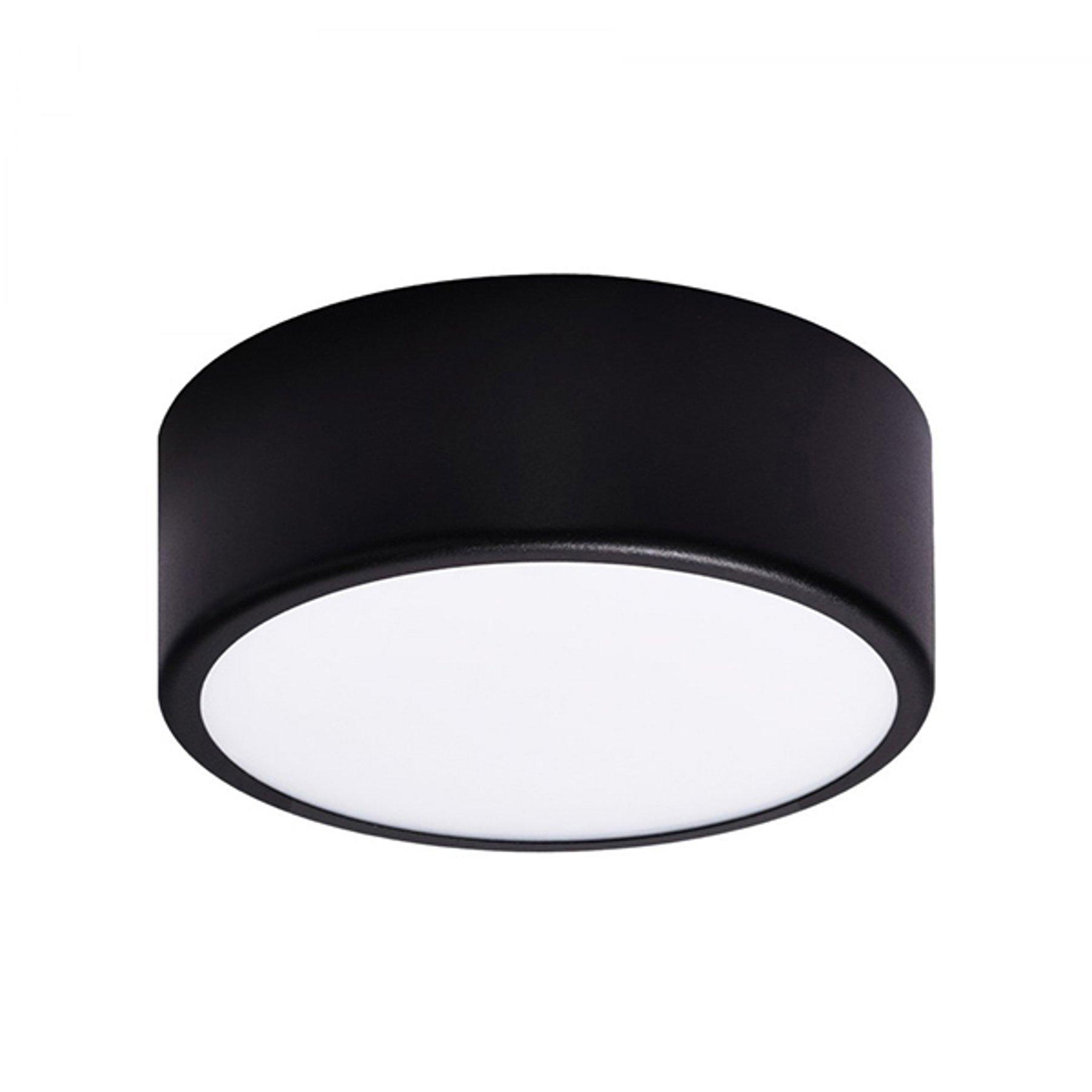 Taklampe Cleo, Ø 20 cm, svart