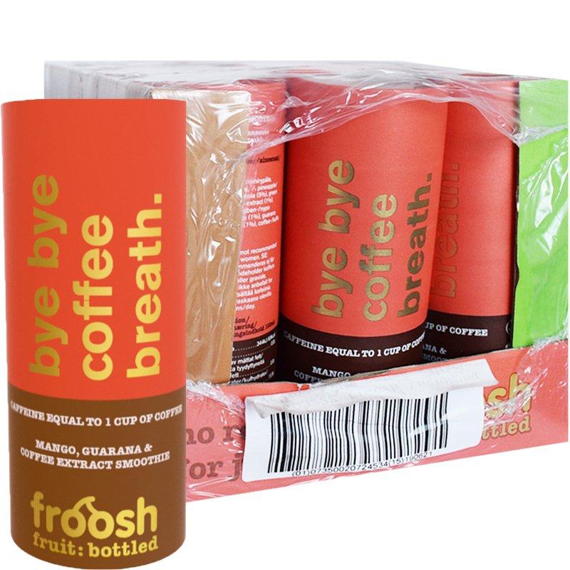 Hel Låda Smoothie Mango, Guarana & Kaffe 12 x 250ml - 67% rabatt