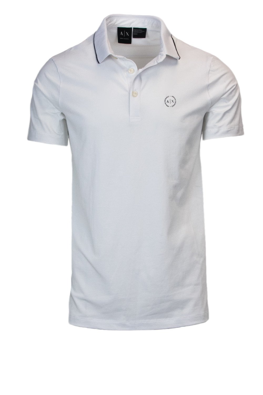 Armani Exchange Men's Polo Shirt White 166231 - white-1 S