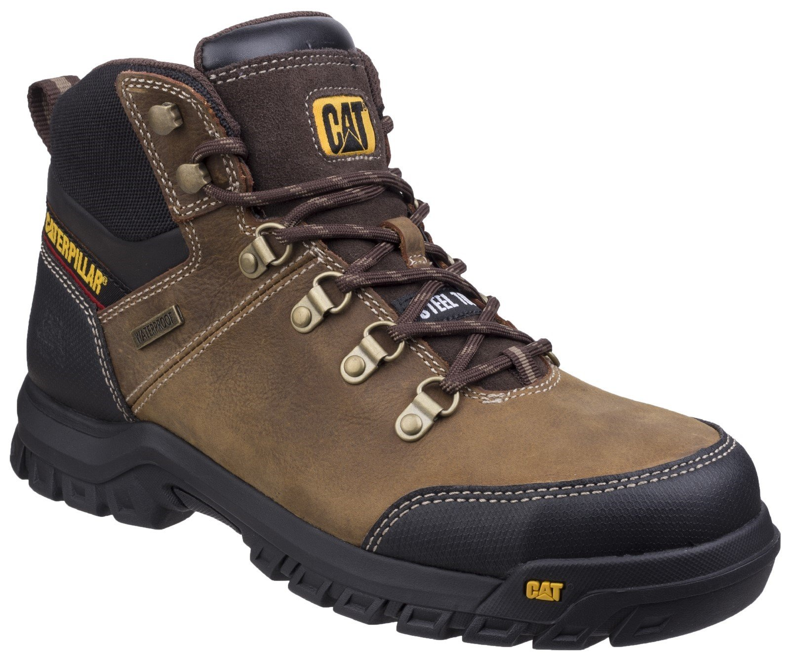 Caterpillar Men's Framework Boot Seal Brown 26947 - Seal Brown 6