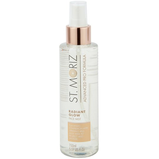 Radiant Glow Face Mist, 150 ml St Moriz Advanced Pro Kasvojen päivetys