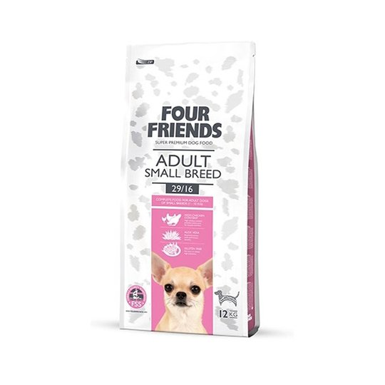 FourFriends Dog Adult Small Breed (17 kg)