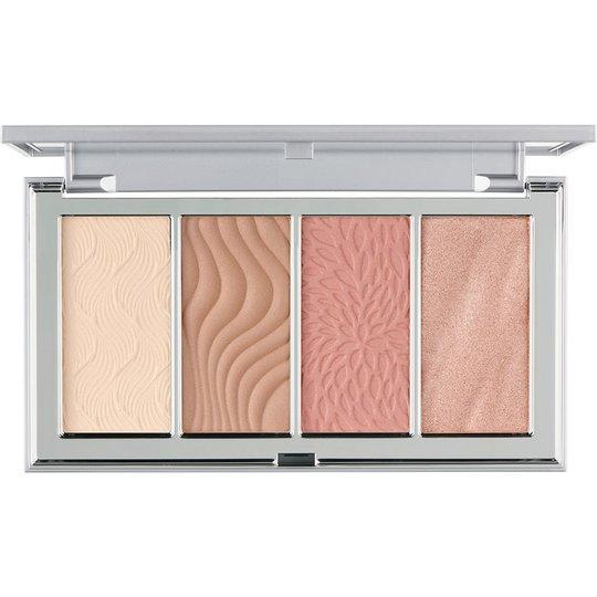 4-in-1 Skin Perfecting Face Palette, 133 g PÜR Aurinkopuuteri