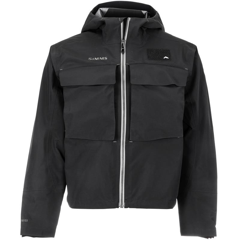 Simms Guide Classic Jacket M Carbon