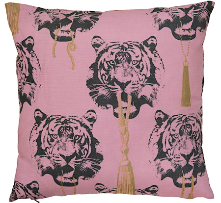 Coco Tiger rosa kudde - 2-pack, 60x60