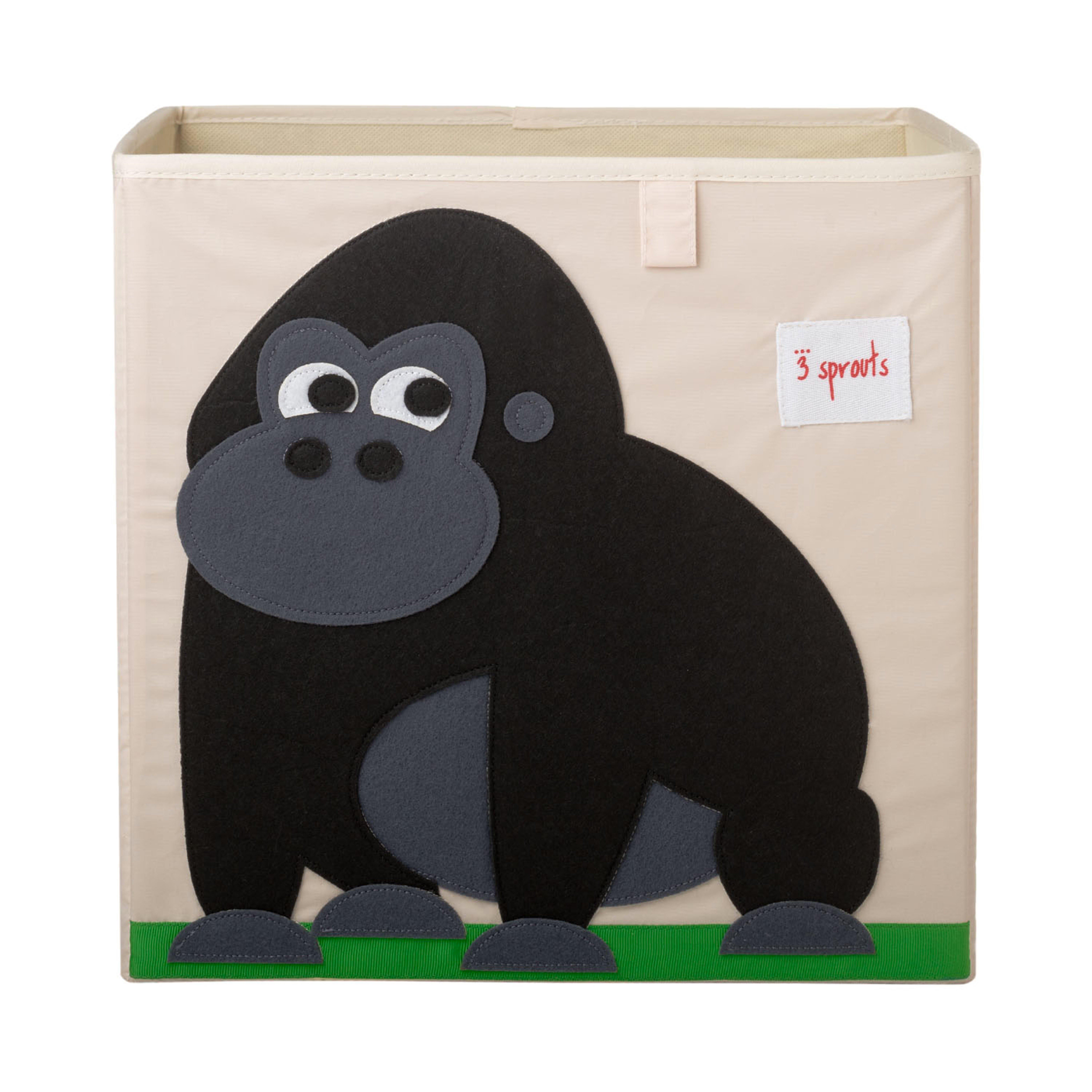 3 Sprouts - Storage Box - Black Gorilla