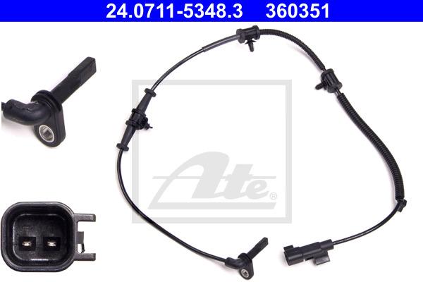 ABS-anturi ATE 24.0711-5348.3