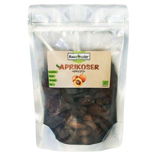 Rawpowder Ekologiska Aprikoser Soltorkade, 500 g