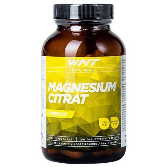 Ravinnelisä Magnesiumsitraatti 100-pack - 46% alennus