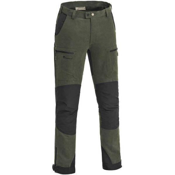 Pinewood Caribou Hunt 5985 Jaktbukse herre, mosegrønn/svart Str. C44