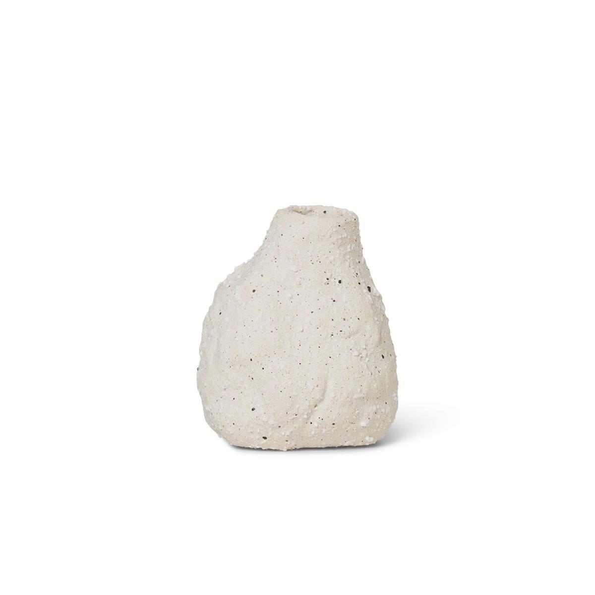 Vulca Mini Vas Off-white stone Ferm Living