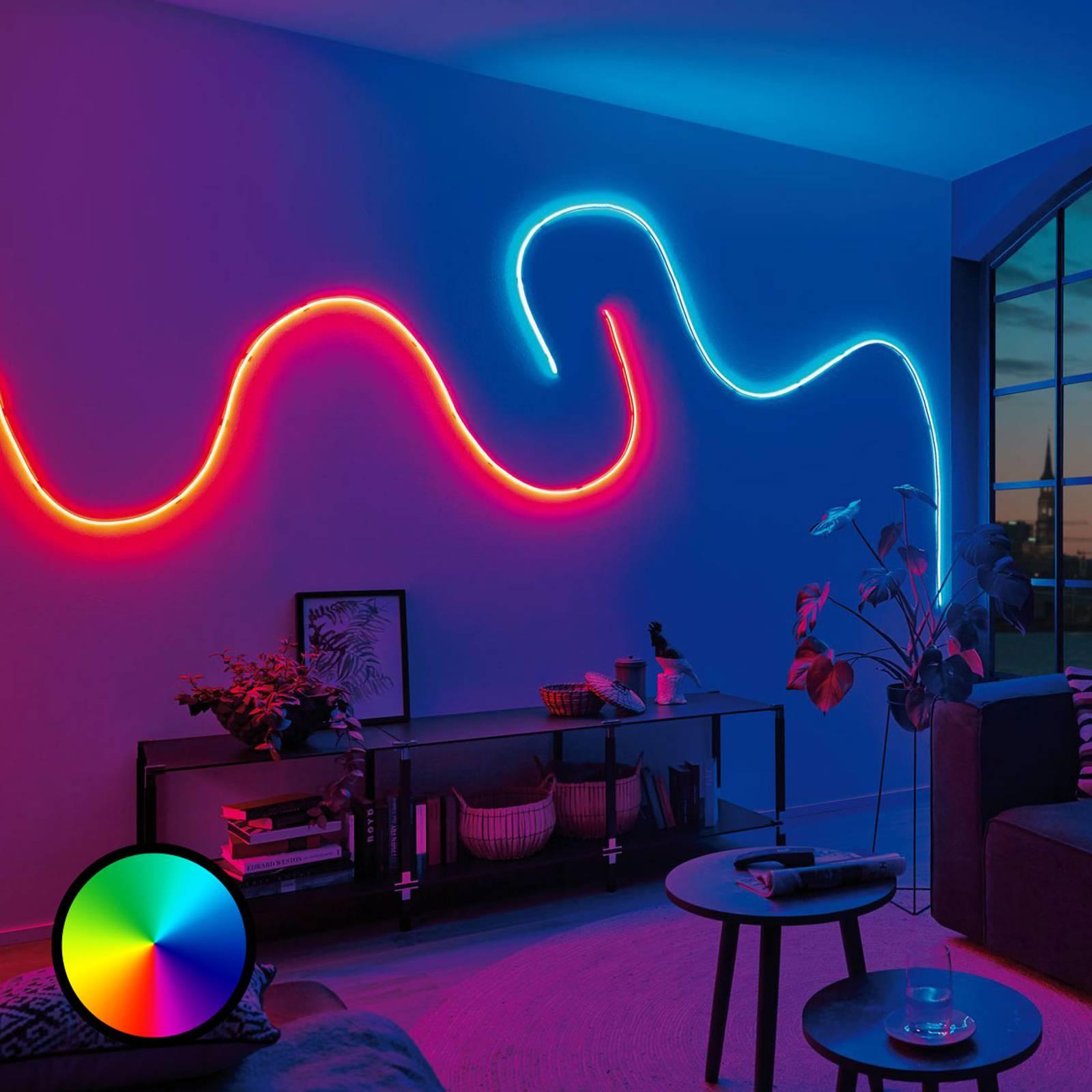 Paulmann MaxLED Flow -perussetti RGB 3 m