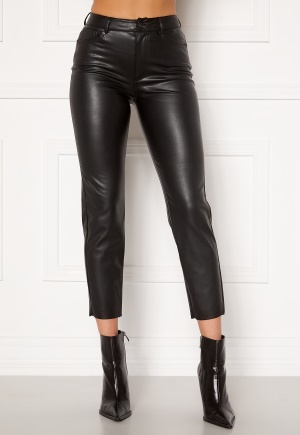 ONLY Emily HW Faux Leather Black M/34