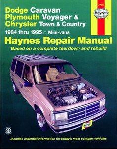 Haynes Reparationshandbok, Dodge & Plymouth Mini Vans, Universal