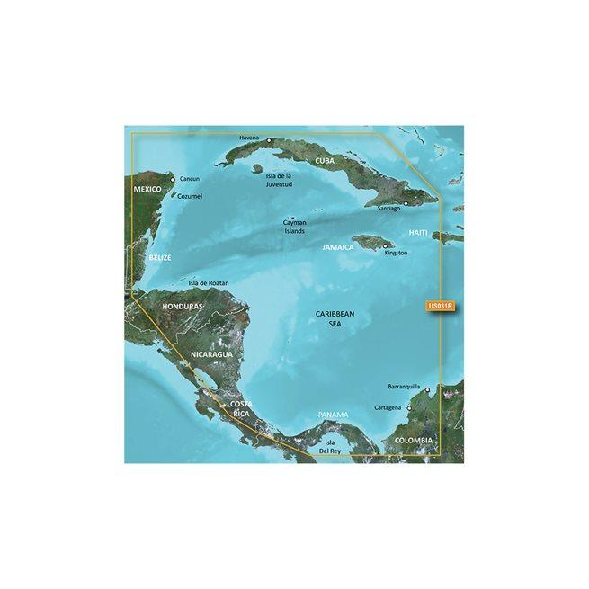 Garmin Southwest Caribbean Garmin HXUS031R microSD™/SD™ card