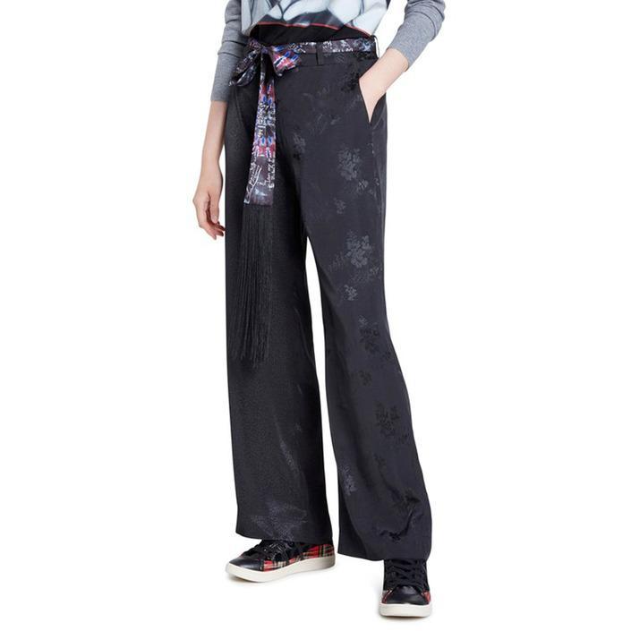 Desigual Women's Trouser Black 180012 - black 34