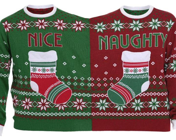The Twin Christmas Sweater - XS (Danish)