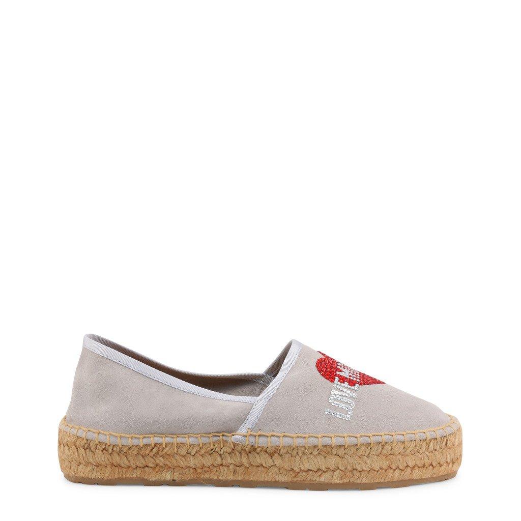Love Moschino Women's Slip On Shoes Grey JA10023G1CIF0 - grey EU 35