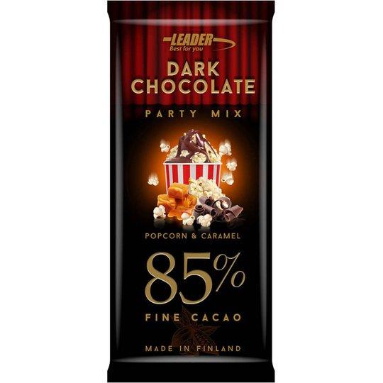 """Mörk Choklad """"Popcorn & Caramel"""" 100g - 44% rabatt"""
