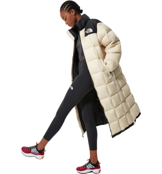 The North Face W Lhotse Duster Jackor BLEACHED SAND
