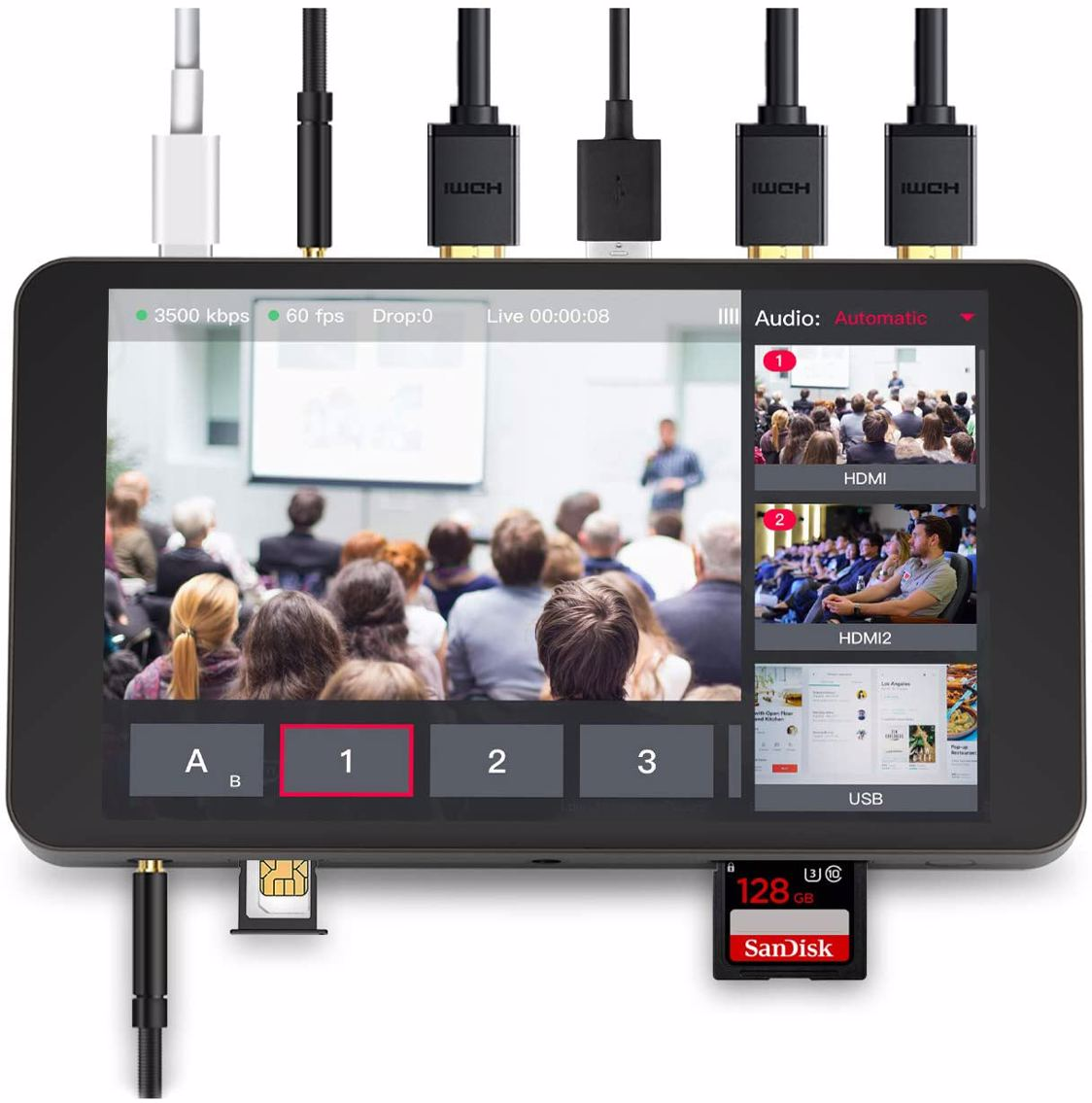 Yololiv - Yolobox Portable Live Stream Studio