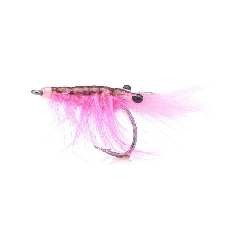 John Shrimp Hot Pink # 4 Kjøp 12 fluer få gratis flueboks
