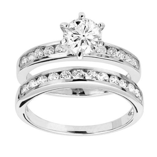 Ringar i äkta silver, 18.0