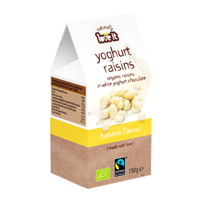 Russin Bananyoghurt & Vit Choklad 150g - 63% rabatt