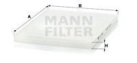 Raitisilmasuodatin MANN-FILTER CU 3059
